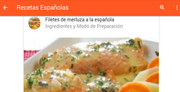 Recetas Españolas - Android Apps on Google Play