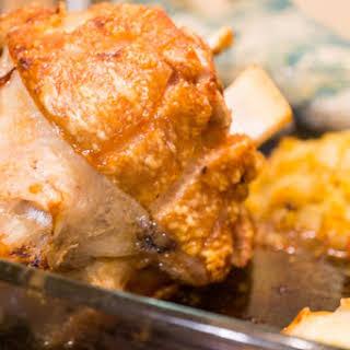 Roasted Pork Leg. Ahjukoot.