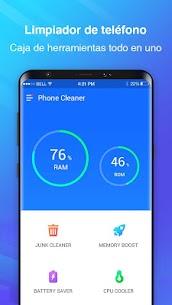 Limpiador de teléfono – Limpiador de caché 1
