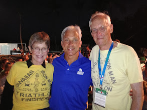 Photo: Col. John and Judy Collins - The founders of Ironman