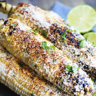 Grilled Mexican Street Corn.