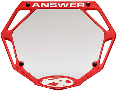 Answer BMX 3D Pro Number Plate alternate image 1