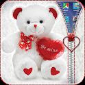 Teddy Bear Zipper Lock icon