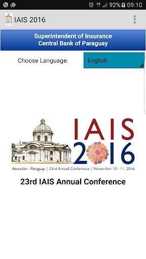 IAIS Annual Conference 2016