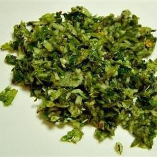 Garlic Basil Spread