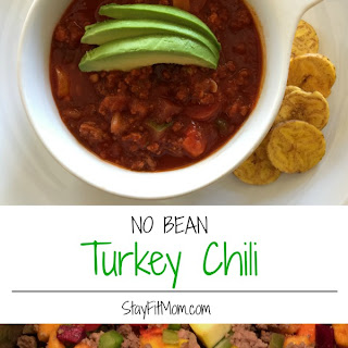 No Bean Turkey Chili
