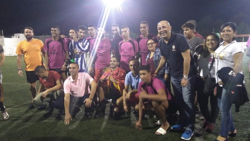 la Liga de Fútbol Multicolor Mónica Sánchez
