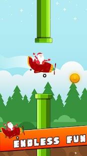 Flappy Santa - náhled