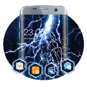 Stormy Lightning Theme: dynamic night wallpaper