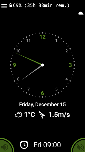 Day and night clock 2.8.16 screenshots 1