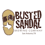 Logo of Busted Sandal 210 Grapefruit Wit