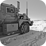 Army 4x4 Snow Driving 3D Icon
