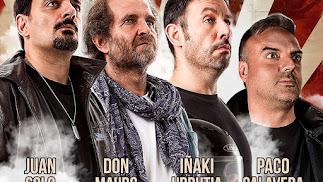 Cuatro ases del humor se verán las caras en el Cervantes.
