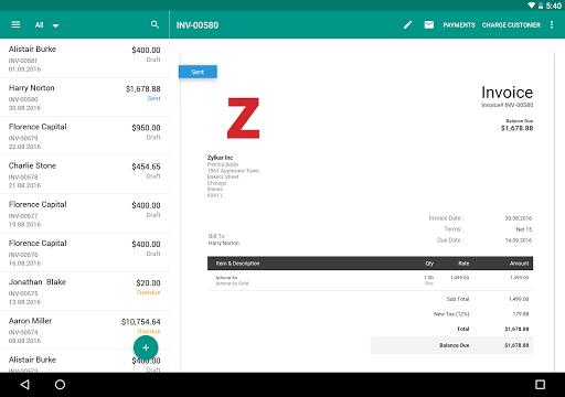 Accounting App - Zoho Books 5.18.9 screenshots 8
