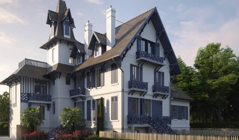 Appartement avec terrasse en bord de mer Trouville-sur-Mer