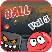 Red roller: Ball game icon