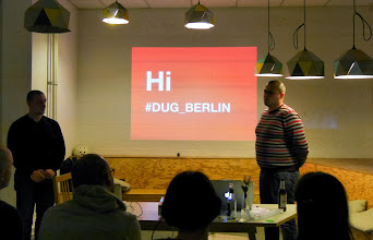 Photo: Hi #dug_berlin - guys from propeople about elastic search.
