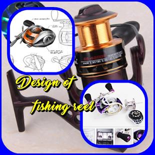 Navrhování rybářského navijáku - náhled