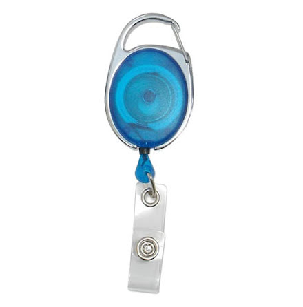 Yoyo Carabin, blå transparent
