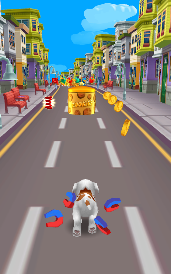 Puppy Dog Racing Games