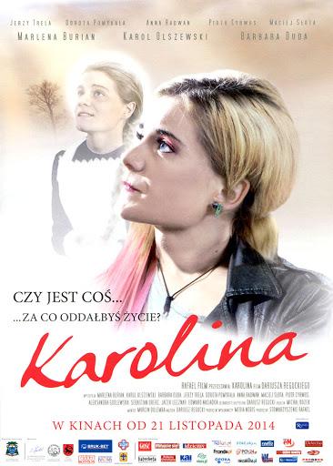 Przód ulotki filmu 'Karolina'