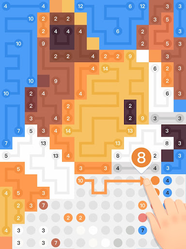 Draw Puzzle : Pixel Connect Dots modavailable screenshots 12