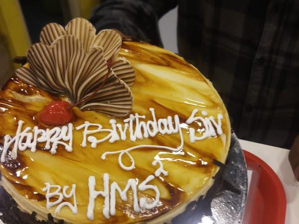 A2C Online Midnight Surprise Cake