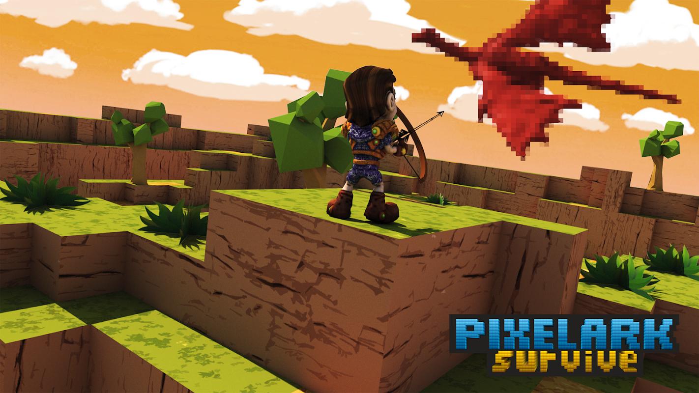 Pixel ARK Survive Mobile apk phiên bản mới nhất 1 0 - trò chơi hành
