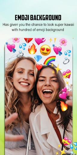 Emoji Background Photo Editor 1.4 Screenshots 1