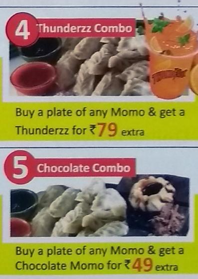 Wow! Momo menu 6