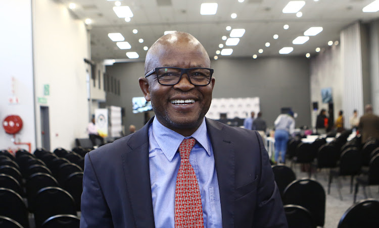 Former government spokesperson Themba Maseko after testifying at the state capture commission in Parktown, Johannesburg, on August 30 2018. Picture: Picture: MASI LOSI