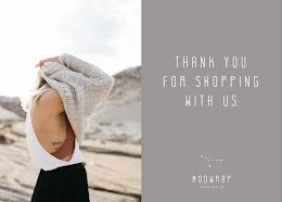 Modwrap Co. - Thank You Card item