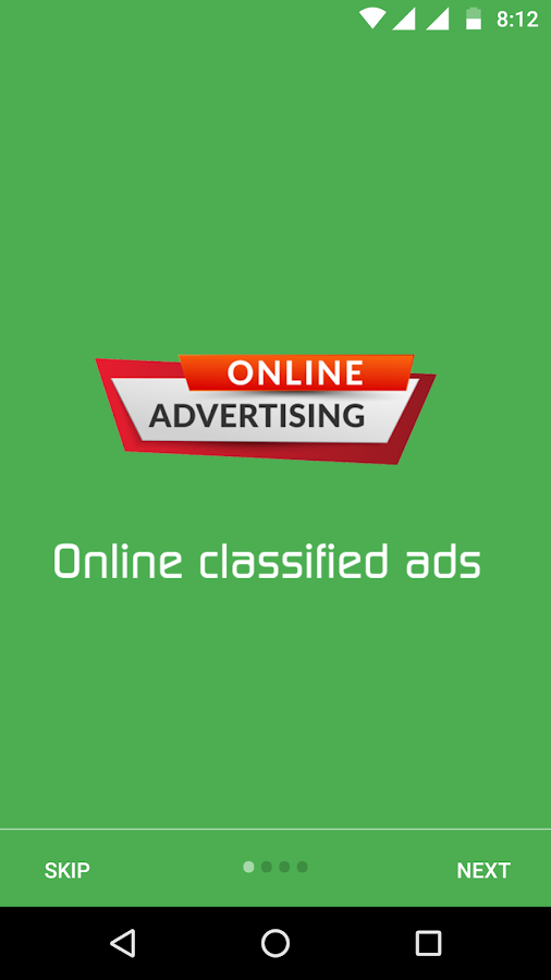 Classified Ads- screenshot