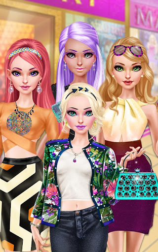 Glam Doll Salon: BFF Mall Date 1.5 screenshots 8