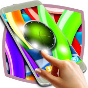 Colorful Clock Live Wallpaper
