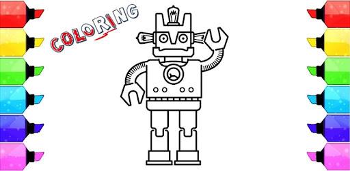 Descargar Robot para colorear para PC gratis - última versión - com ...