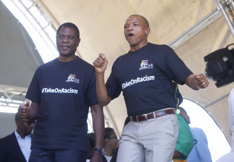 North West ANC chairman, Supra Mahumapelo and Gauteng ANC chairperson Paul Mashatile are hoping to avoid a split in the party.