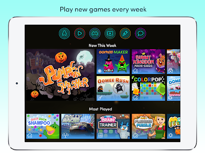 Azoomee: Kids' Games, TV Shows & Family Chat- screenshot thumbnail