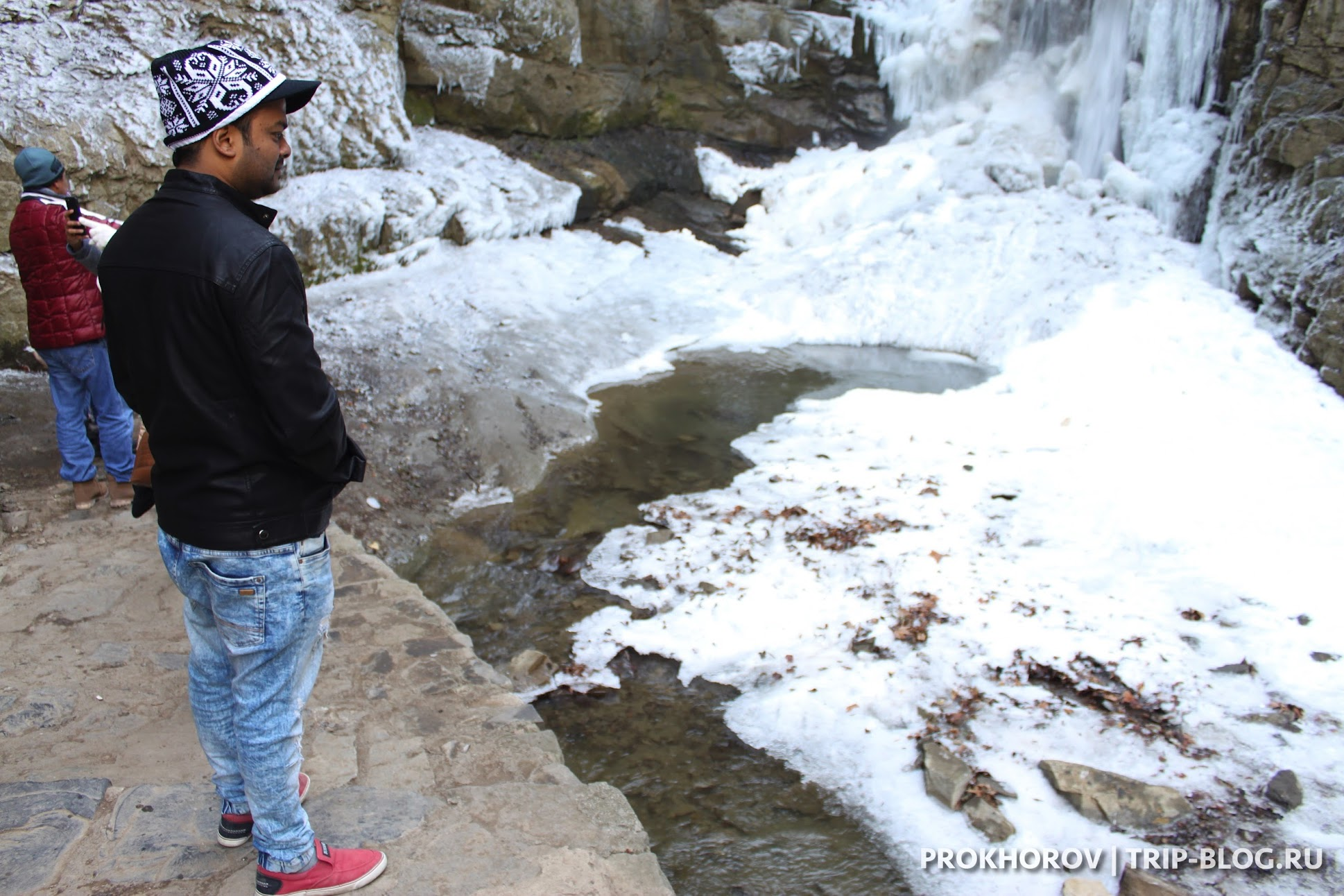 Водопад в Тбилиси