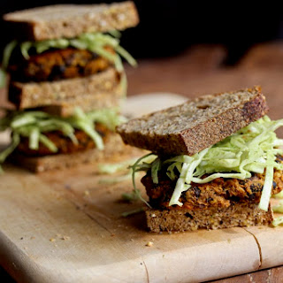 Chipotle Pumpkin Black Bean Burgers.