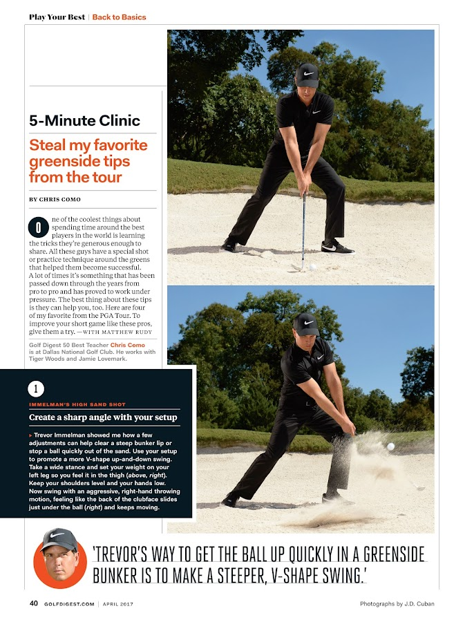 Golf Digest- screenshot