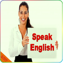 Learn and speak English icon