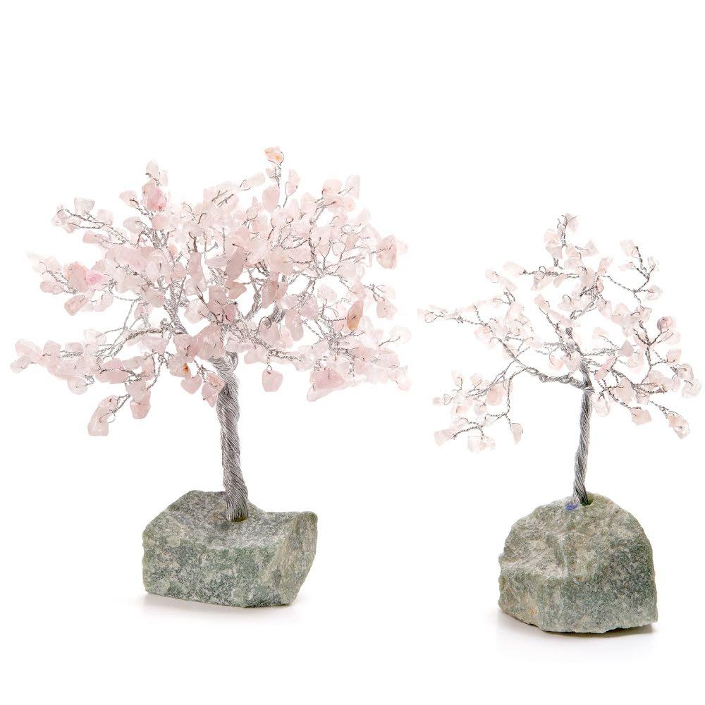 Rosenkvarts, Livets träd i 3 storlekar