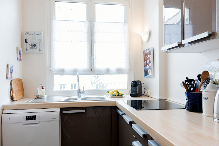 Kitchen at Saint Germain apartment