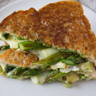 Asparagus and Brie Grilled Cheese
