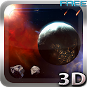 Space Symphony 3D FREE LWP icon