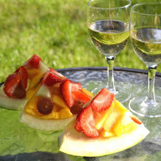Fruity Watermelon Jello.