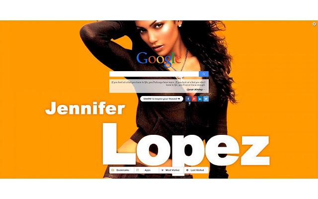 Jennifer Lopez New Tab