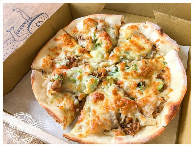 熟成台灣漬物披薩外帶專門店高麗菜漬佐鹽烤五花豬