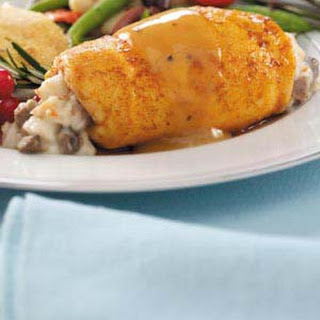Marsala Crab-Stuffed Chicken Breasts.